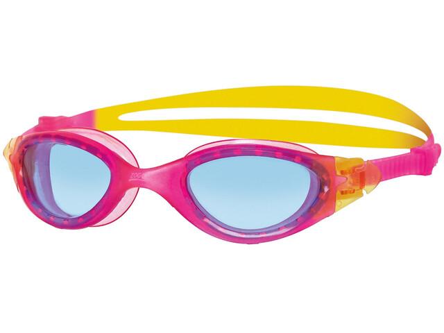 Zoggs Panorama Junior Pink/Yellow/Tint